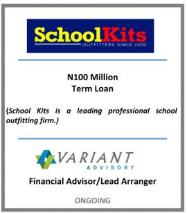 School Kits- N100m